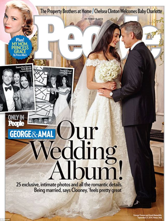 George Clooney & Amal Alamuddin Wedding